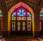 Nasir Al-Mulk Mosque windows Royalty Free Stock Photos