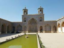 Nasir-ol Molk-Moschee, die rosa Moschee, Shiraz, der Iran lizenzfreie stockfotografie