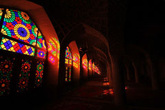 Nasir ol Molk Mosque Stock Images