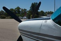Naso del velivolo Fotografia Stock
