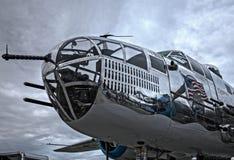 Naso di Mitchell B-25 Immagine Stock