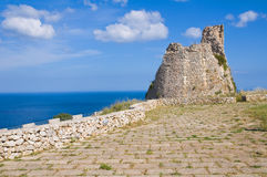 Nasparo Tower. Tiggiano. Puglia. Italy. Stock Photography