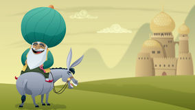 Nasreddin Hodja royalty illustrazione gratis