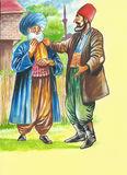 Nasreddin Hodja, turk Masalli Royalty Free Stock Photography