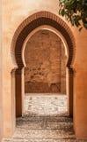 Nasrid宫殿,阿尔罕布拉宫10 免版税库存照片