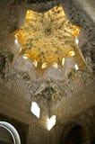 Nasrid pałac kompleks, Alhambra, Granada, Południowy Hiszpania zdjęcia stock