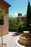 Nasrid Palace, Alhambra Palace. Stock Photos