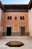 Nasrid Palaces Royalty Free Stock Photos