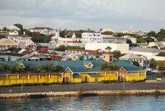 Nassau śródmieście I port obrazy stock