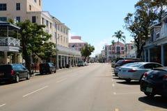 Nassau στο κέντρο της πόλης Μπαχάμες στοκ φωτογραφία με δικαίωμα ελεύθερης χρήσης