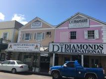 Nassau alloggia l'automobile Immagini Stock