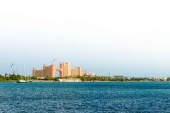 Atlantis Paradise Resort in Nassau, Bahamas royalty free stock image