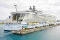 NASSAU, BAHAMAS Królewski Karaiby, urok morza Obrazy Royalty Free