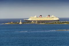 Disney Cruise Ship Royalty Free Stock Photography