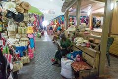 Nassau, Bahamas Straw Market Stock Images