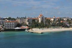Nassau beach in Bahamas. Stock Photo