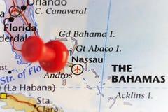 Nassau capital of Bahamas Stock Photo
