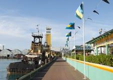 Nassau City Pier Stock Photo