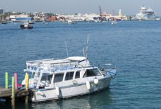 Nassau City Water Taxi Stock Photography