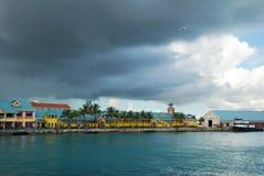 Nassau Cruise Ship Terminal stock photography