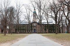 Nassau Hall Princeton University lizenzfreies stockbild