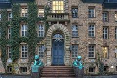 Nassau Hall - uniwersytet princeton Obrazy Stock