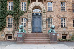 Nassau Hall uniwersytet princeton Fotografia Royalty Free