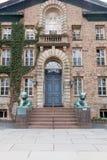 Nassau Hall uniwersytet princeton Obraz Stock
