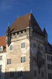 Nassau House. On blue sky, Nuremberg, Germany Stock Photos