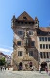 The Nassau House in Nuremberg, Germany, 2015 royalty free stock photo