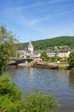Nassau,Lahn River,Germany Royalty Free Stock Images