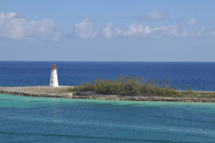 Nassau light house Stock Photo