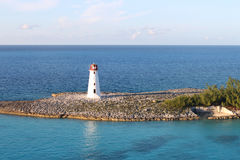 Nassau lighthouse Royalty Free Stock Photo
