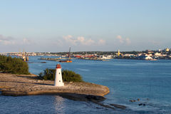 Nassau lighthouse Stock Image