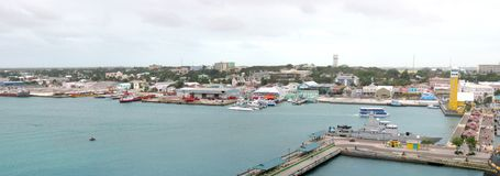 Nassau panorama Royalty Free Stock Photography