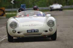 πρίγκηπας Nassau Porsche ρυθμιστών του 1955 vanoranje Στοκ Εικόνες