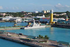Nassau port Royalty Free Stock Photo