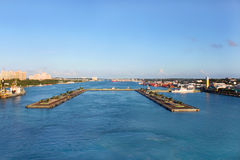 Nassau port Royalty Free Stock Photography