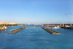 nassau port Fotografia Royalty Free