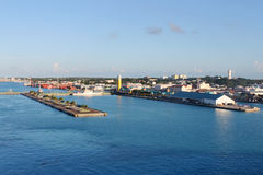 Nassau port Stock Photo