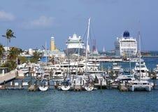 Nassau port Arkivfoton