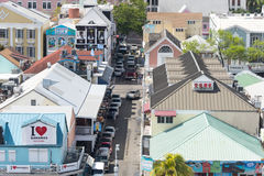 Nassau tourist street Stock Photography