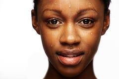 Nasse Haut lizenzfreies stockfoto