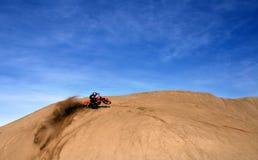 Nasse Sand-Kurve Stockbilder