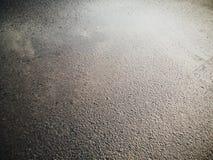 Nasse Straße Stockbild