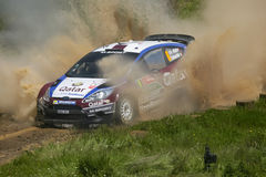 Nasser Al Atytyah in Rally de Portugal 2013 Stock Photos