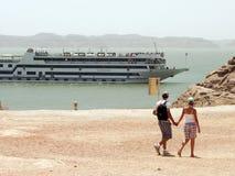 Nasser lake Zdjęcia Stock