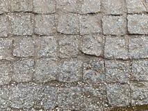 Nasser Pflasterstein, nach Regen stockfotografie