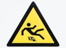 Nasses Fußbodenzeichen der Achtung Lizenzfreie Stockfotos
