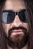 Nasses Gesicht eines Mannes Lizenzfreie Stockbilder
